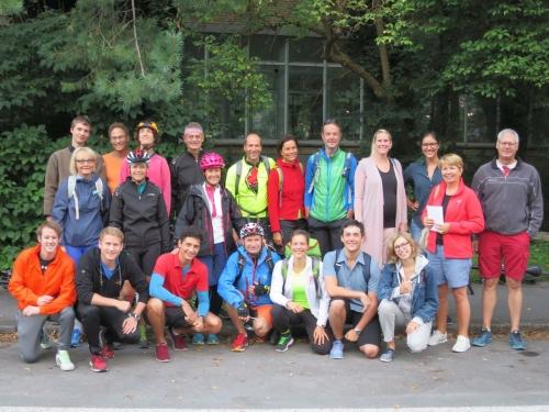 Vor Start in Glarus